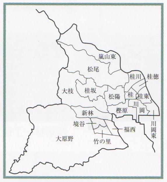 京都市西京区役所:西京区の学区...